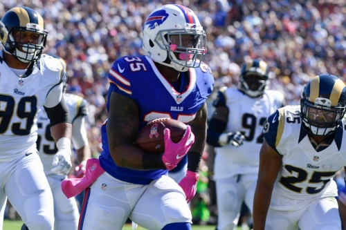 Patriots' offer sheet for RB Mike Gillislee hard to match for Buffalo Bills, who reportedly