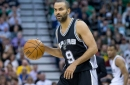 Tony Parker appears to be back