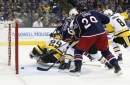 Blue Jackets beat Penguins 5-4 to avoid sweep The Associated Press