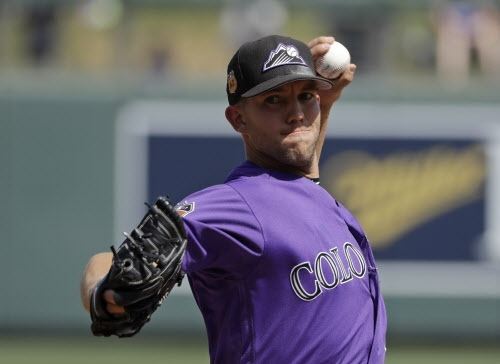 Rockies at Dodgers, Wednesday, 7 p.m.