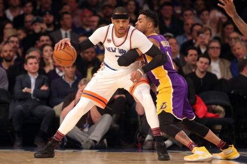 Lakers Podcast: Negotiating a Carmelo Anthony trade with the New York Knicks