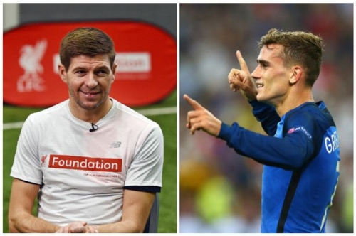 Liverpool legend Steven Gerrard warns Antoine Griezmann off Manchester United move