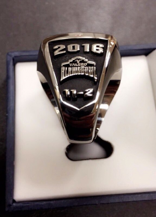 Oklahoma State's 2016 Alamo Bowl rings bear 11-2 record, despite three losses during season