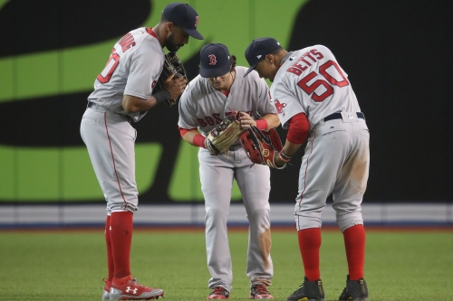 Red Sox at Blue Jays lineup: Can the Sox move into sole possession of first place?