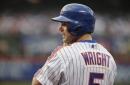 Mets' David Wright resumes throwing Wednesday