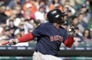 Pablo Sandoval starting for Boston Red Sox against Blue Jays left-hander Francisco Liriano
