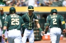 Game #15: A's explode for 9-1 win, series victory over Rangers