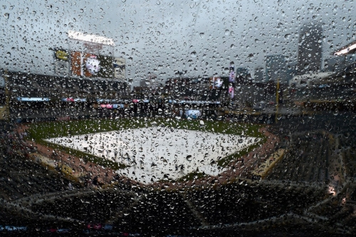 Twins-Indians game rained out (thank god)