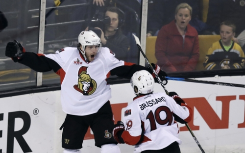 Senators beat Bruins 1-0, take 3-1 lead in series The Associated Press
