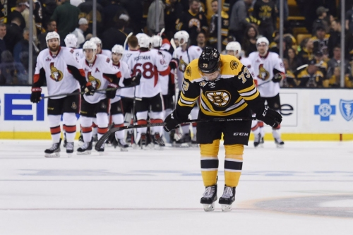 Anderson shuts out Bruins, Senators take 3-1 series lead