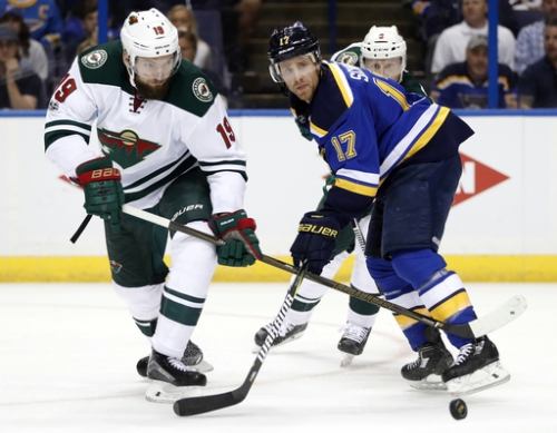 Dubnyk, Wild beat Blues 2-0 to avoid elimination The Associated Press
