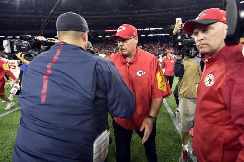Patrick Mahomes thinks Texans coach Bill O'Brien really likes him