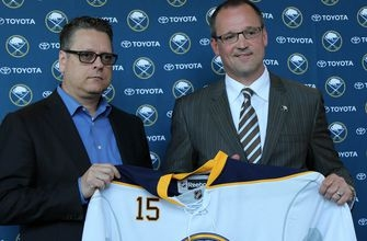 The Buffalo Sabres clean house, fire coach Dan Bylsma and GM Tim Murray