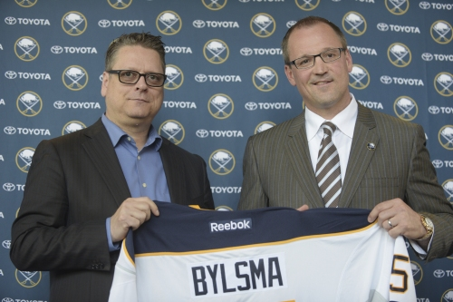 Sabres clean house by firing GM Murray and coach Bylsma The Associated Press