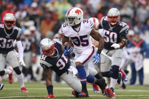 Scouting report: RB Mike Gillislee could have a breakout season with the Patriots