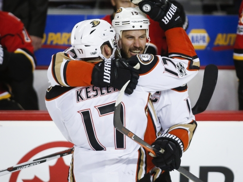 Ducks rest up and await winner of Oilers-Sharks The Associated Press