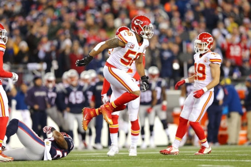 Chiefs schedule 2017: Patriots are 7-point favorites in early line