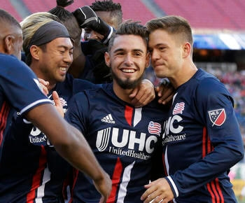 Diego Fagundez has gone from teen prodigy to veteran leader for Revolution