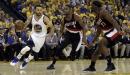 Golden State Warriors sans Kevin Durant still 'Golden' vs Portland Trail Blazers in Game 2