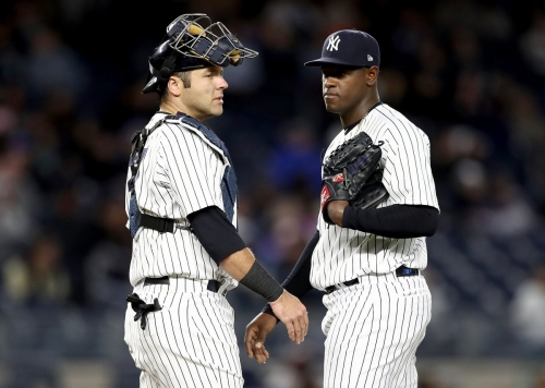 Yankees' Austin Romine making impact behind the dish