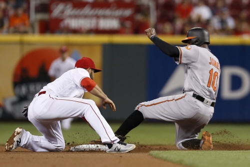 Adam Jones' stolen stolen base is another reminder of flawed review system