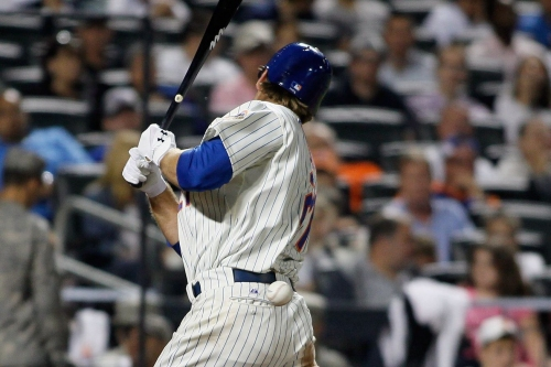 Lucas Duda and the art of the hit-by-pitch