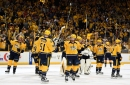 WATCH: Preds React to Sweeping the Chicago Blackhawks
