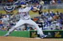 Mets' deGrom to miss start due to stiff neck, Harvey to pitch