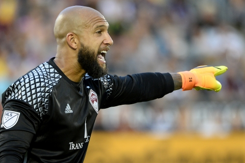 Rapids' Tim Howard apologizes for Kansas City behavior but spreads the blame