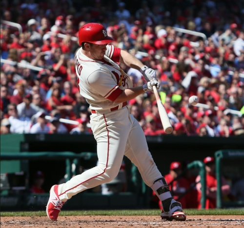 Gyorko swats himself into cleanup spot