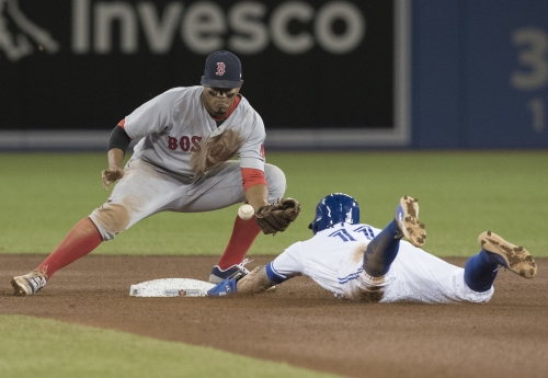 Xander Bogaerts injury: Red Sox shortstop day-to-day with left thumb soreness