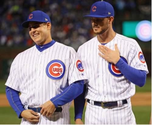 Jersey Boys: Kris Bryant tops jersey sales among 4 Cubs in top 5