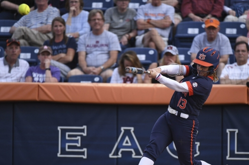 Shorthanded No. 7 Auburn softball shuts out South Carolina
