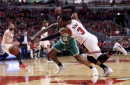 2017 NBA Playoffs: Boston Celtics hold slim lead over Chicago Bulls in crucial Game 3 (halftime analysis)