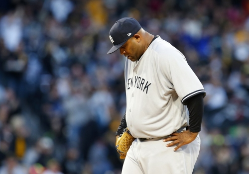 Sabathia falters for first time as Yankees lose to Pirates