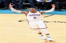 Westbrook's triple-double leads Thunder past Rockets 115-113 The Associated Press