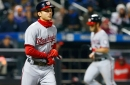Washington Nationals 4-3 over New York Mets on bases-loaded walk in extras