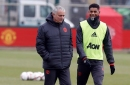 Jose Mourinho explains why Marcus Rashford is taking set pieces for Manchester United