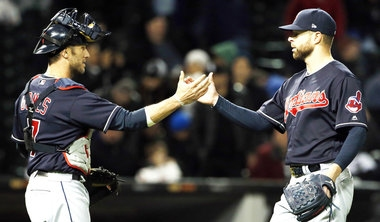 Cleveland Indians' Corey Kuber prepped for 3-hitter with bullpen session in sheep's clothing