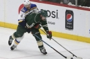 Wild: Staal 'alert and stable' after head-first boards crash