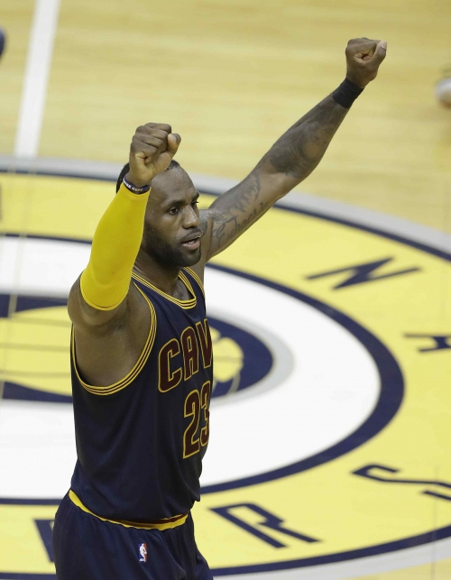 LeBron James, Cleveland Cavaliers looking for sweep against Indiana Pacers