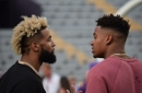 Odell Beckham Jr., Kevin Faulk lead LSU out of the tunnel
