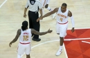 Hawks use blazing start to claim 116-98 victory over Wizards in Game 3