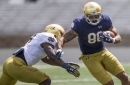 Notebook: Notre Dame TE Alizé Mack makes presence felt in return to action