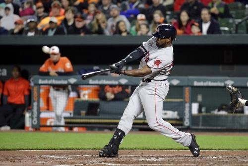 Jackie Bradley Jr. crushes huge home run for Boston Red Sox vs. Baltimore Orioles (video)