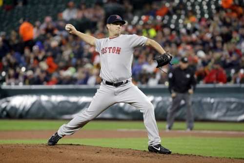 Steven Wright allows two homers and exits early; Red Sox bats quiet against Orioles rookie starter in loss