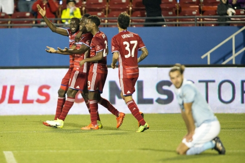 Sporting KC suffer 1st loss in clash of unbeatens