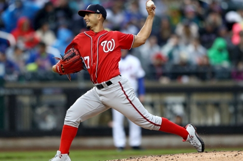 Gio Gonzalez continues to make Citi Field his home in Nationals' sixth straight win overall