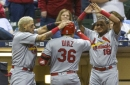 Lynn stars on the mound, Diaz in a pinch as Cardinals beat Brewers