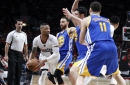Golden State Warriors use defense to squeeze the life out of the Trail Blazers in Game 3 win